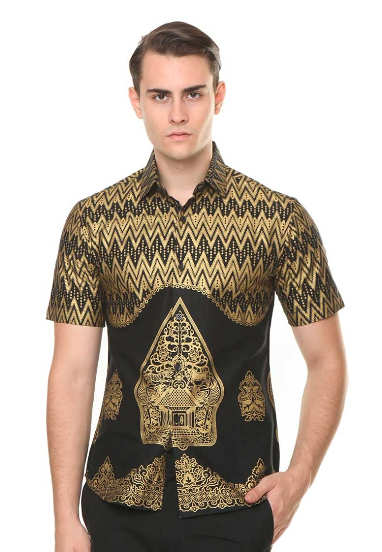 model baju batik pria anak muda ananta batik