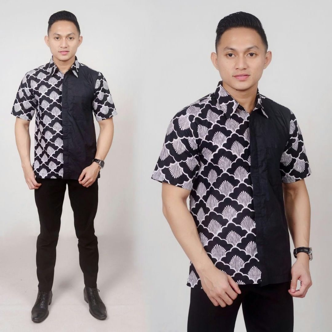 model baju batik pria modern 2020 ananta batik