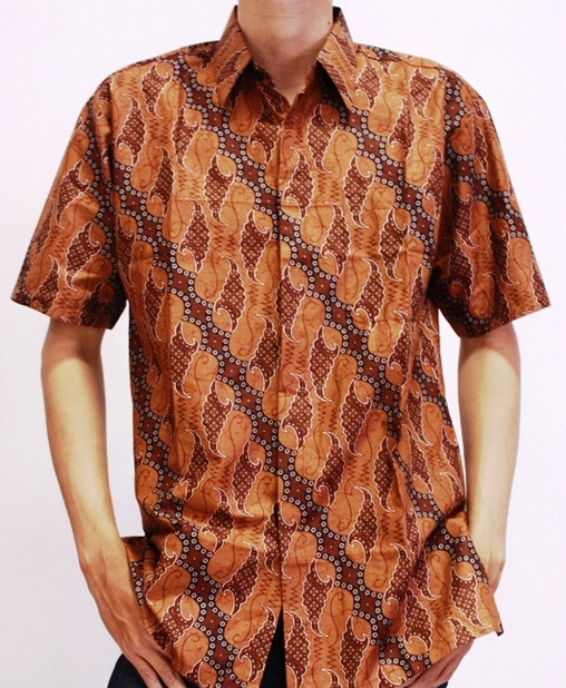 model baju batik untuk kerja pria batik indonesia 1