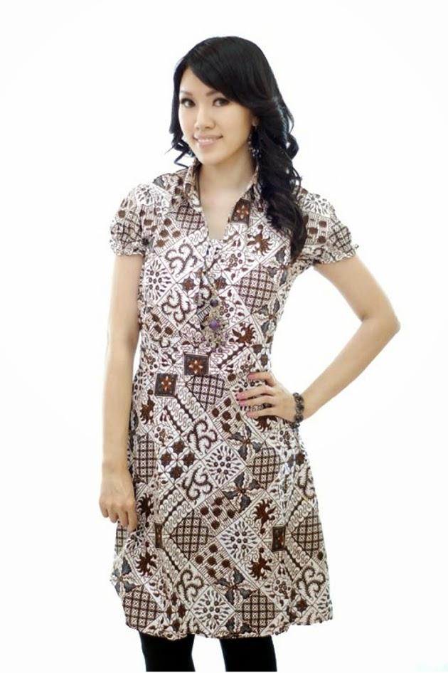 model baju batik wanita untuk kerja harian model baju