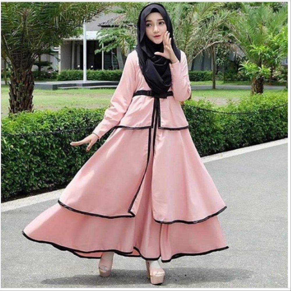 model busana muslim 2019 gambar baju dress muslimah