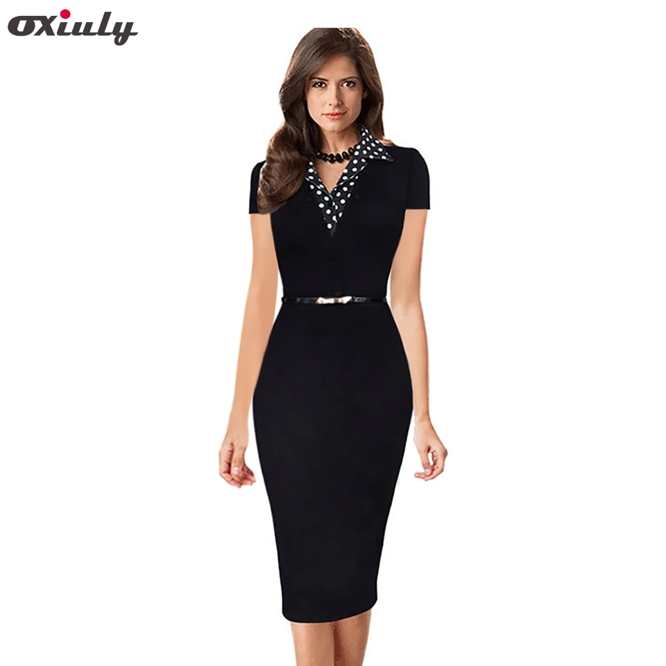 oxiuly women elegant career wear to work office business