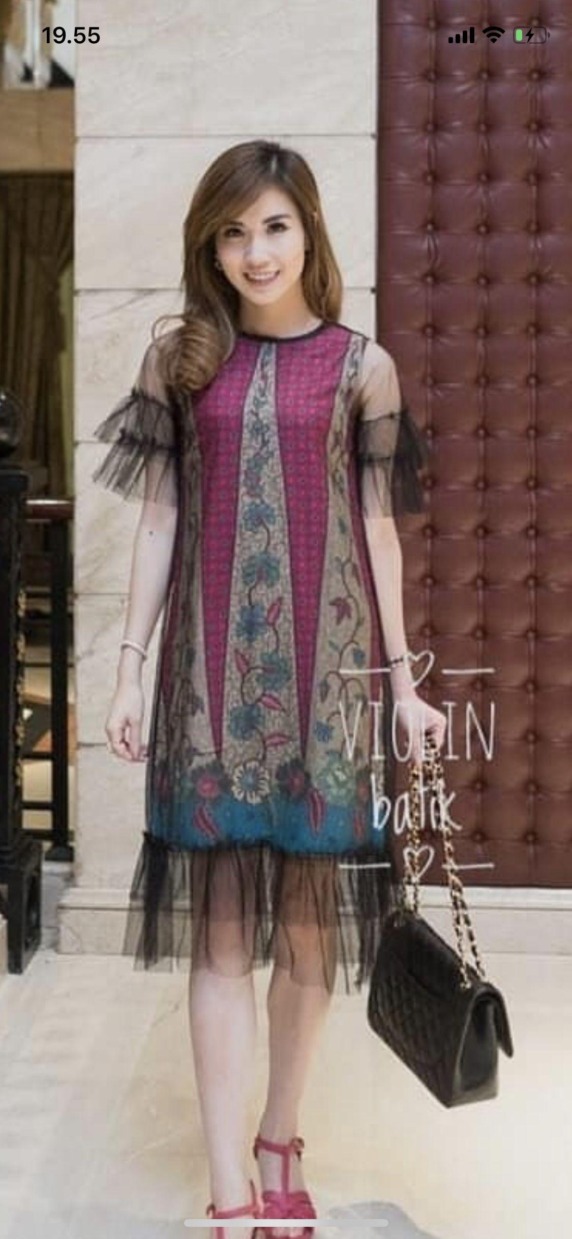 pin oleh lynda kurniawan di batik pakaian jelita model