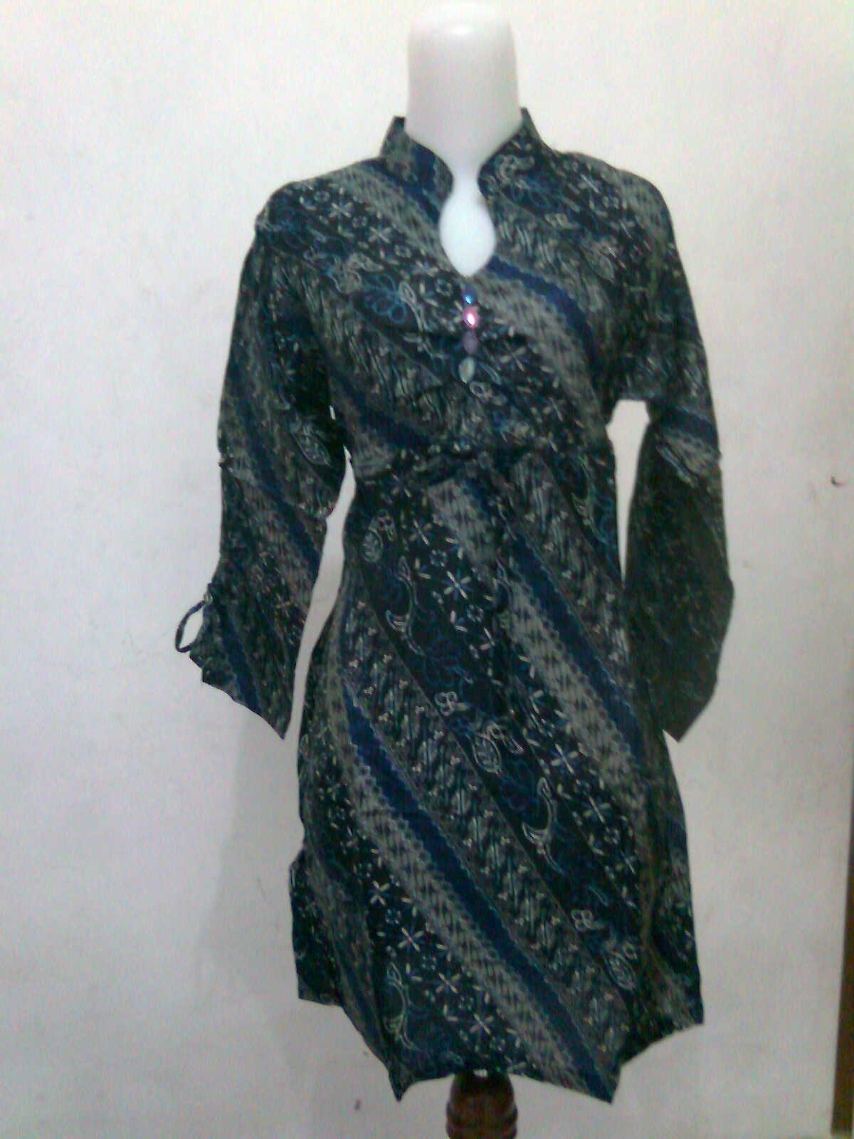 super junior model baju batik wanita 2012 desain batik