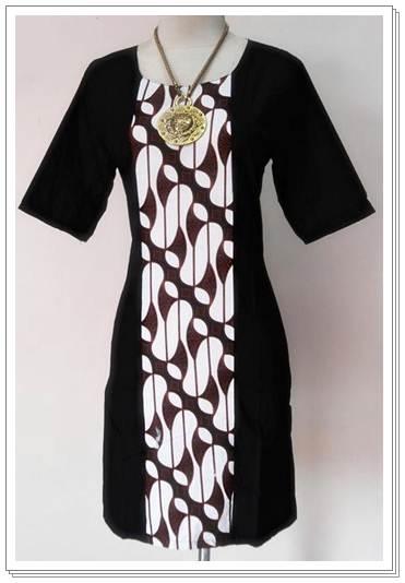 update model baju batik wanita modern terbaru 2013 1