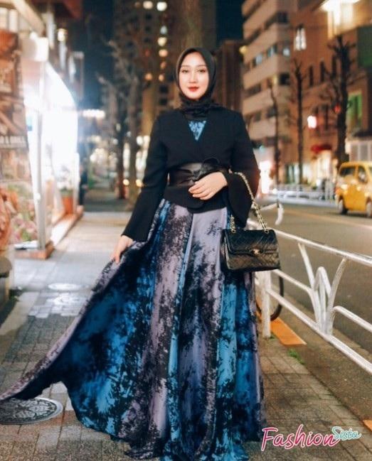 5 model baju muslim batik buat tampil keren 2020