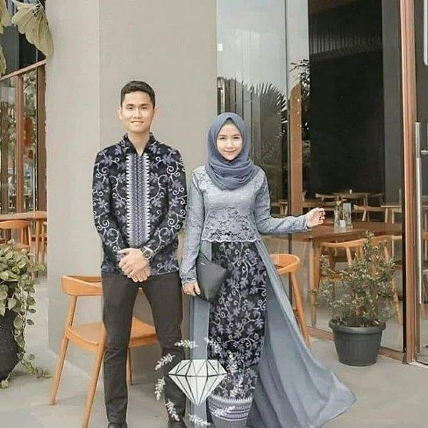 baju couple kondangan kekinian model baju kondangan