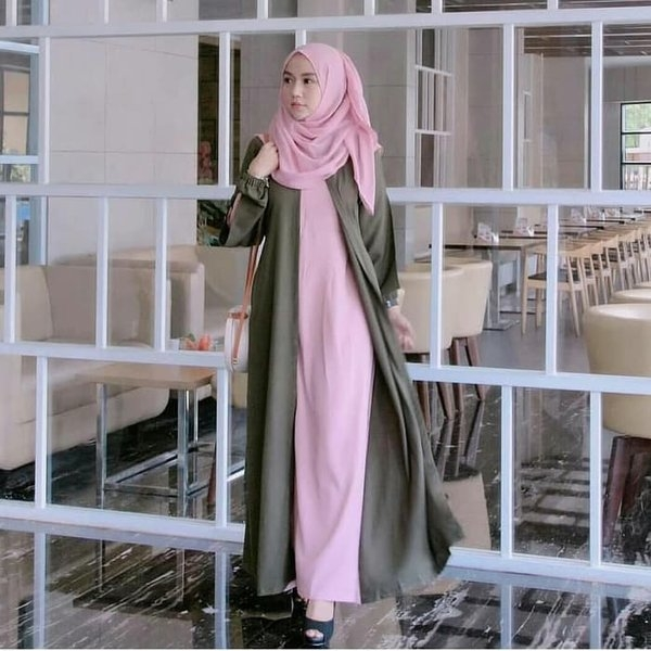 baju muslim kekinian wanita hijab muslimah