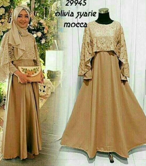 charlotte louiza dress design dress kondangan muslim