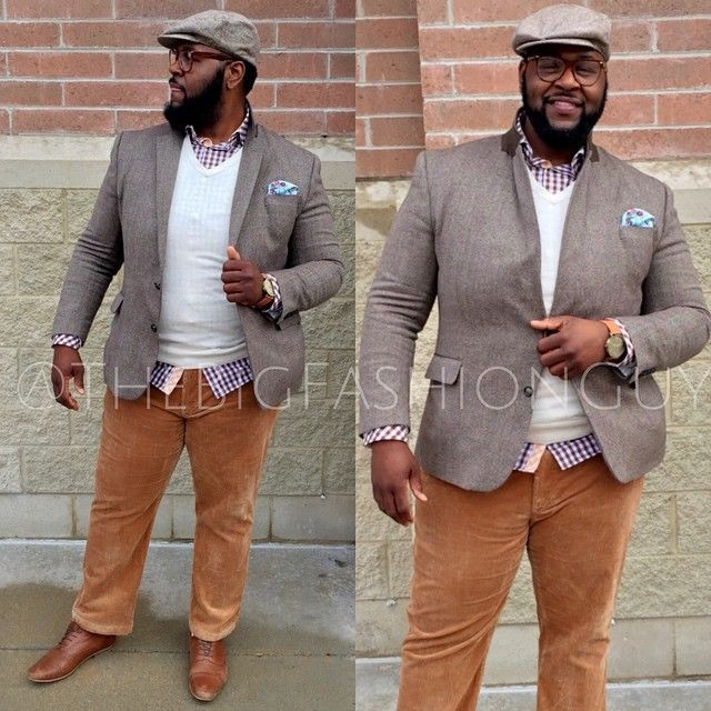 image result for stocky man with cane large men fashion