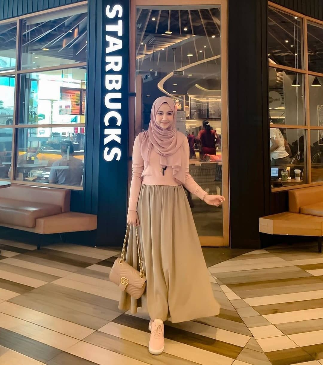 inspiration hijab style outfit of the day ootd 2019