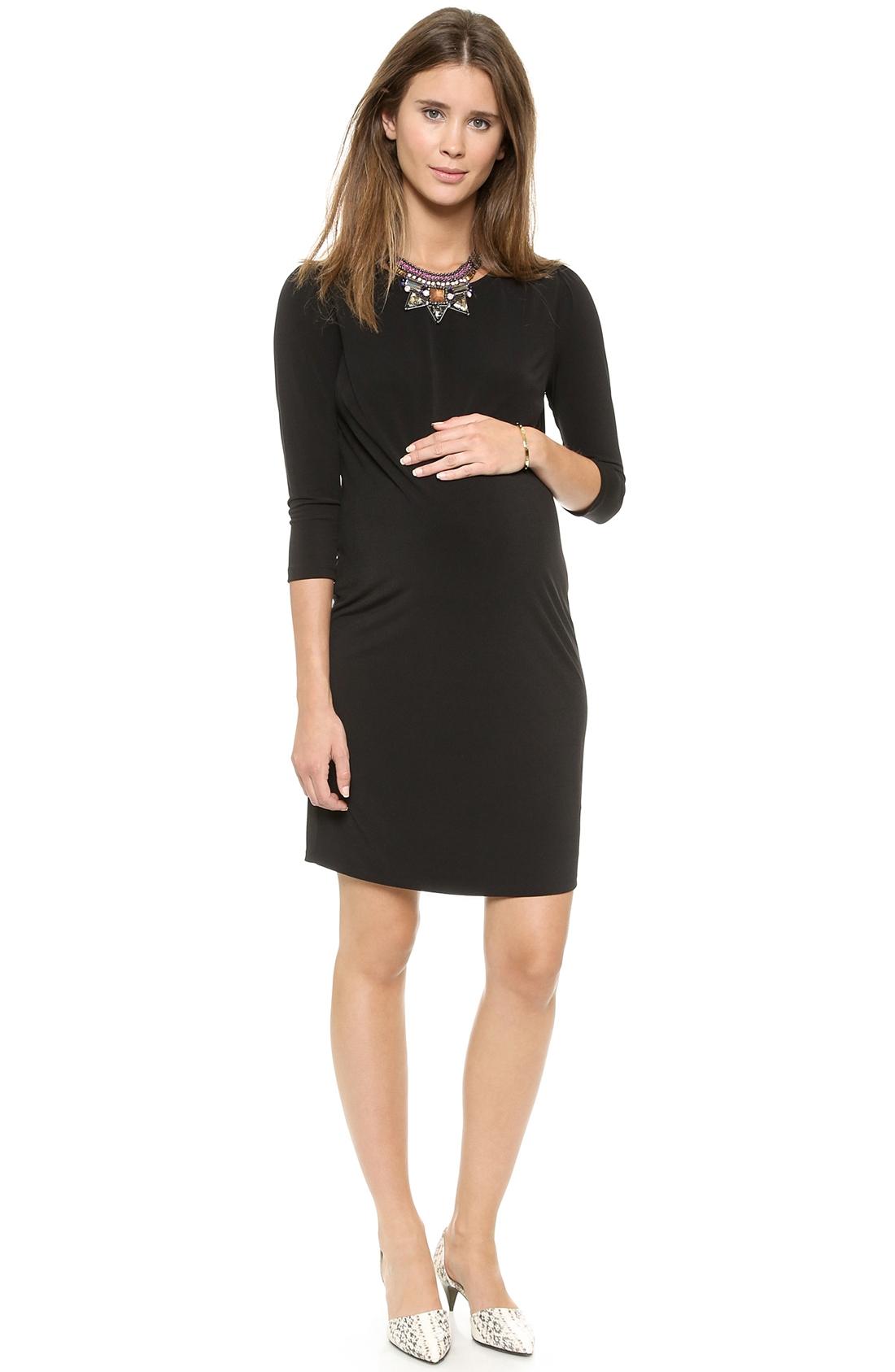 maternity little black dresses project nursery