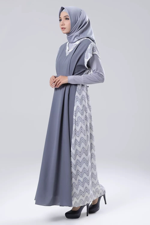 model baju gamis batik remaja kekinian model baju muslim