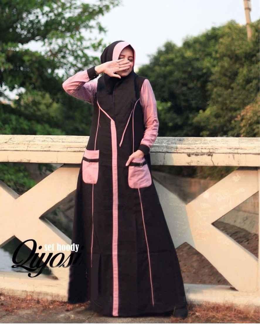 model gamis remaja terbaru 2019 qiyosi glz katalog