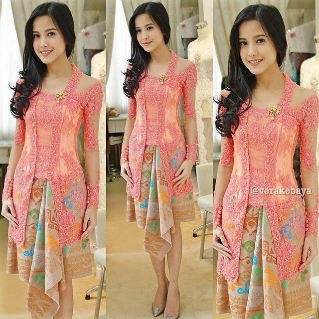 model gaun kebaya remaja dress panjang pendek simple