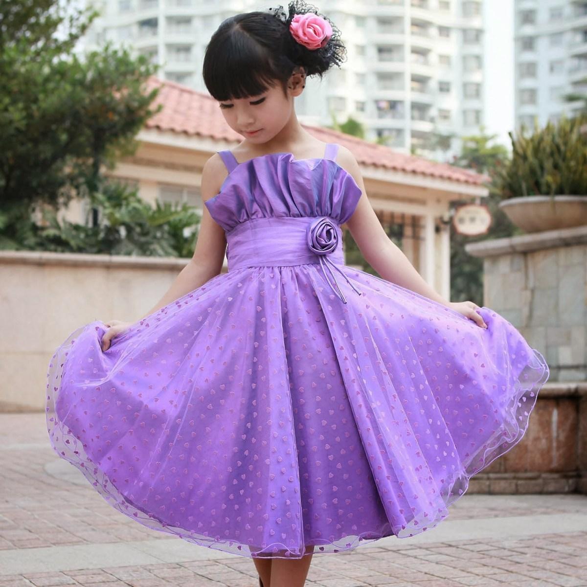 new fashion styles kids eid dress girls collection 2013