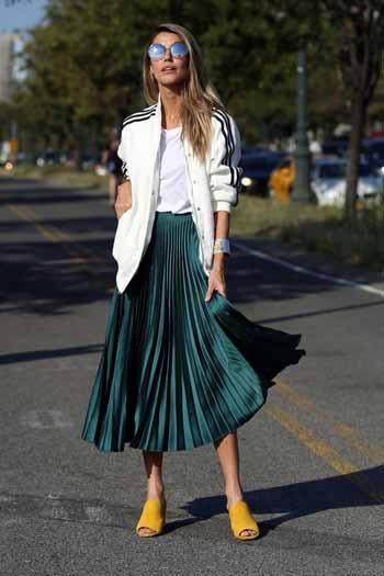 ootd rok plisket yang modis abis blog unik