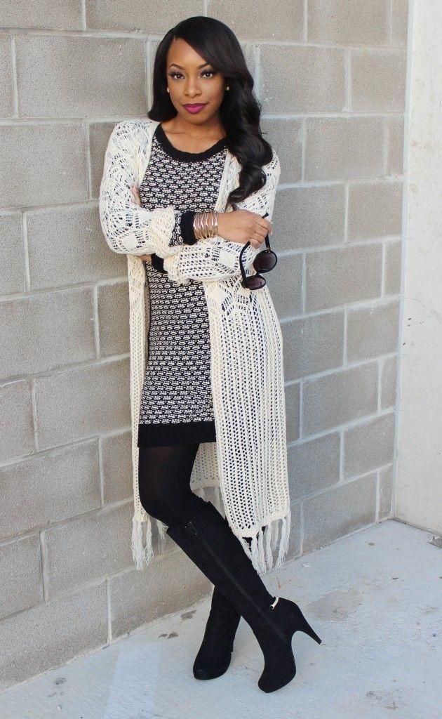 ootd sweater dress knit kimono alyra knit dress