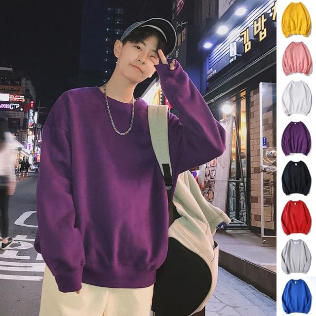 privathinker men harajuku hoodies sweatshirts oversized