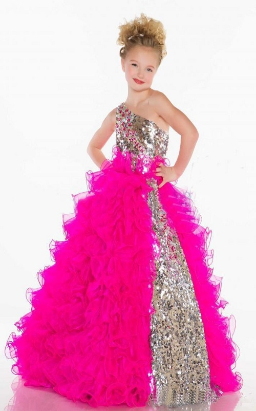 sequin party dresses for kids online ba couture india