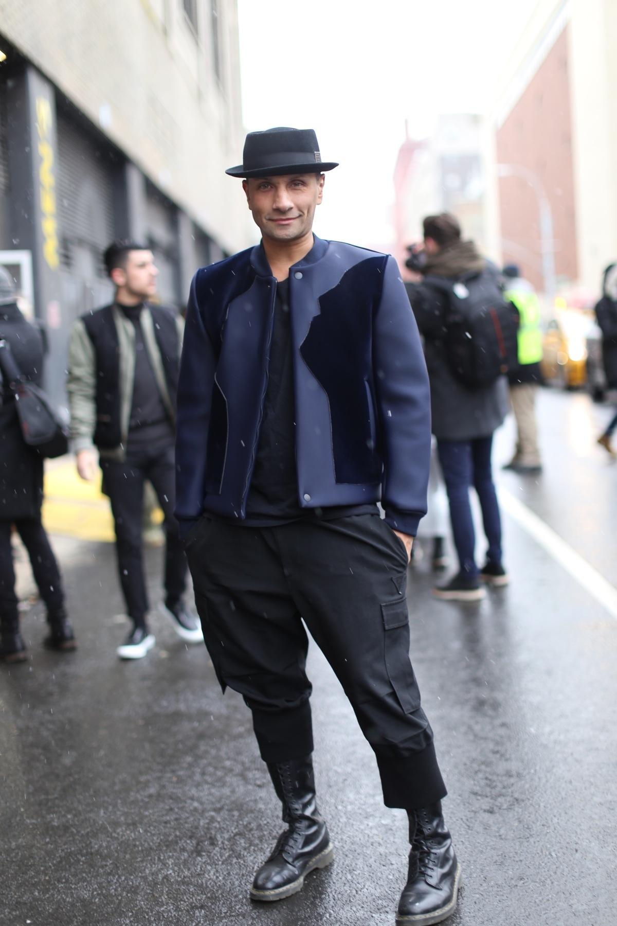 street style shots new york fashion week mens day 2