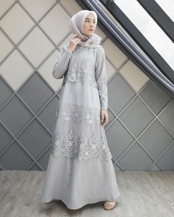 9 kebaya satin hijab tercantik dan terlaris di instagram