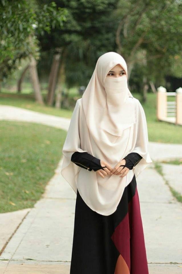 baju muslimah syar i bercadar jilbab gallery