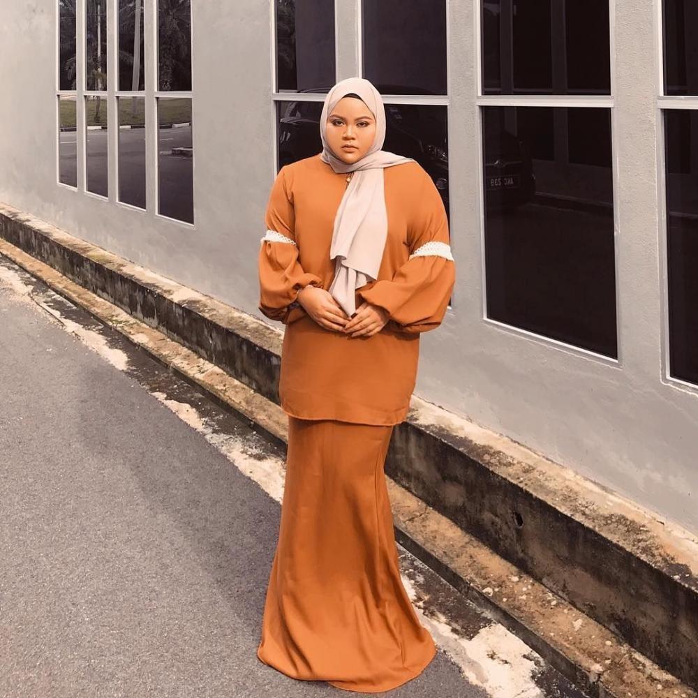 bingung menentukan fashion hijab karena gemuk nih ikuti