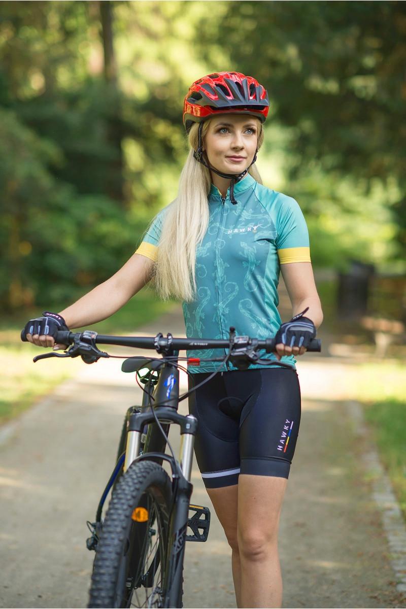 cycling jersey for woman lizard