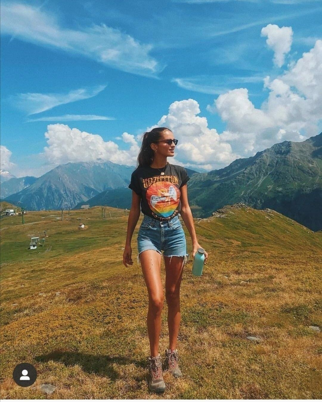 denim shorts outfit in 2020 camping outfits for women