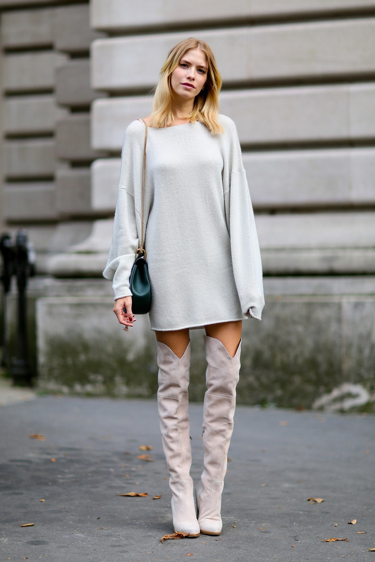 for tall girls how to wear over the knee boots irl