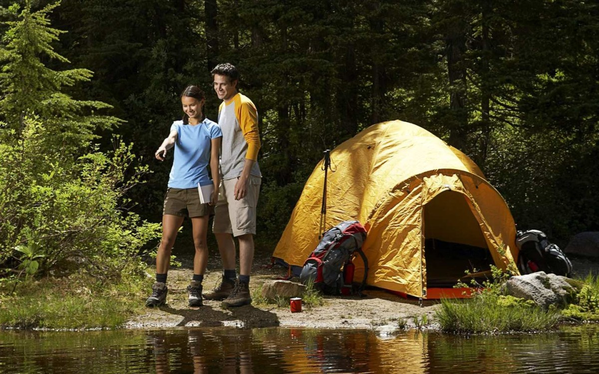 gearing up with the essentials for camping outdoor