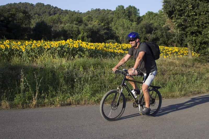 man riding mountain bike stock photo image 21731120