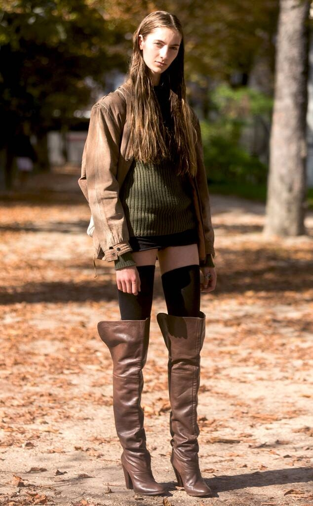 sarah endres from street style boots e news