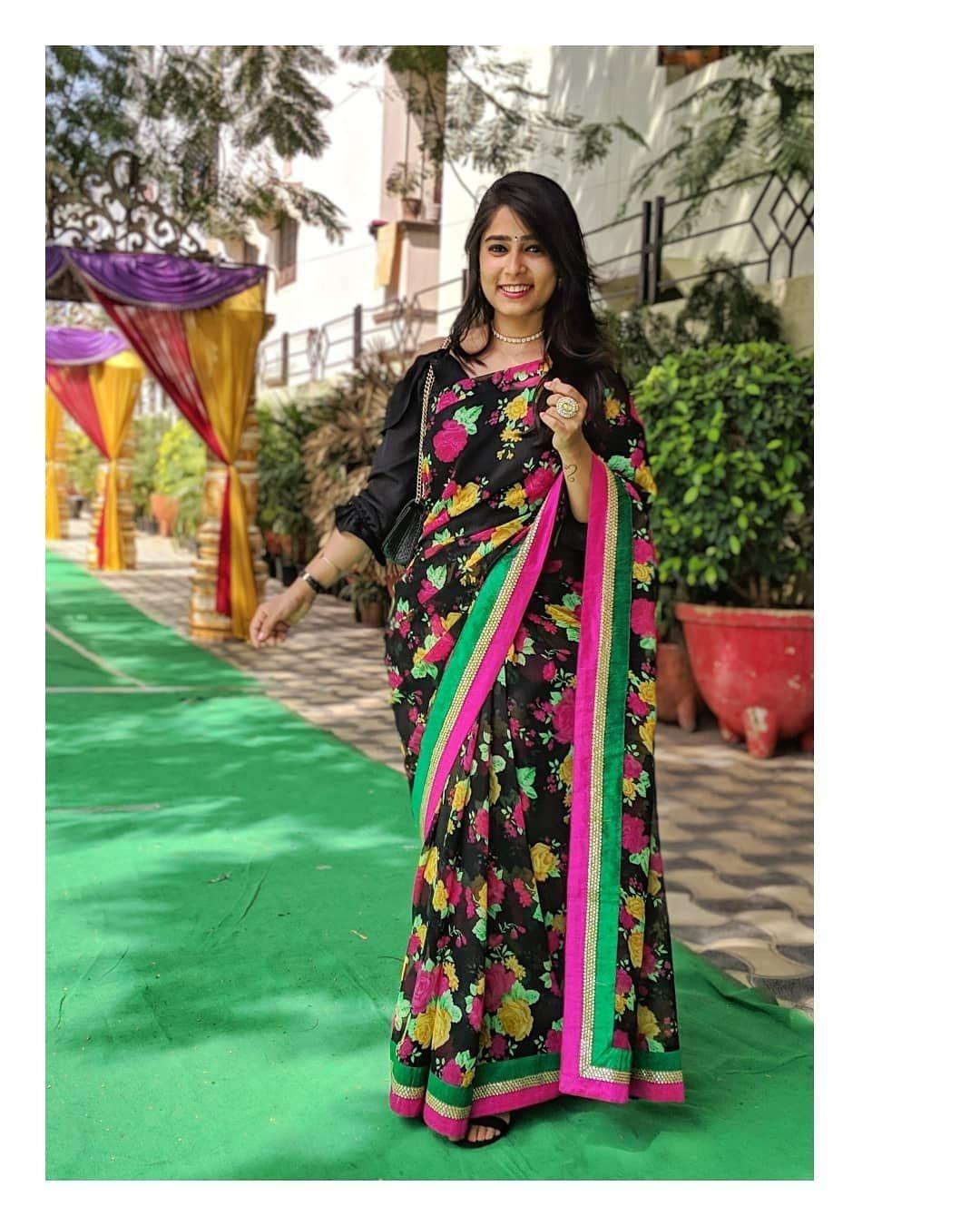 saree ootd somystyles saree traditional dresses fashion