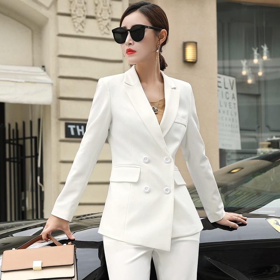 acrmrac women suits new autumn slim asymmetry jacket wide
