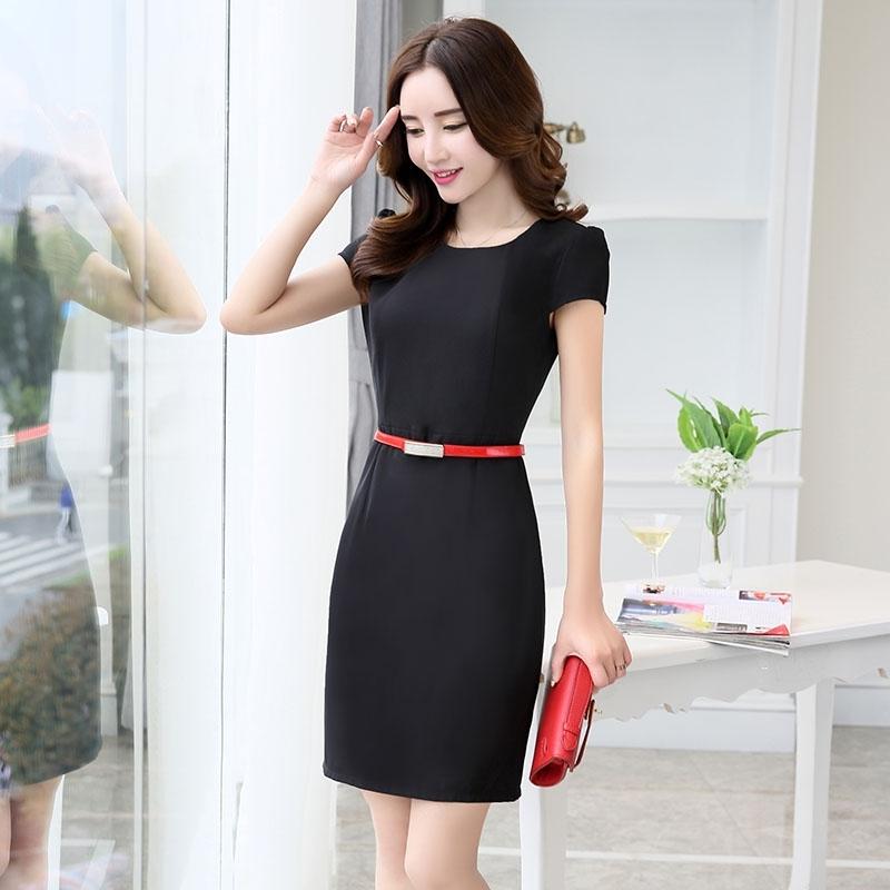 asian design thin summer formal office dress for work tianex