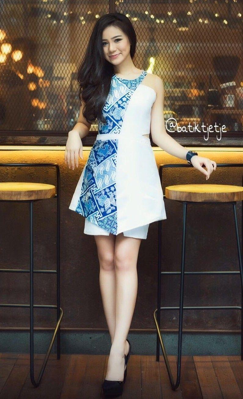 batik tjetje dress pakaian wanita pakaian kerja
