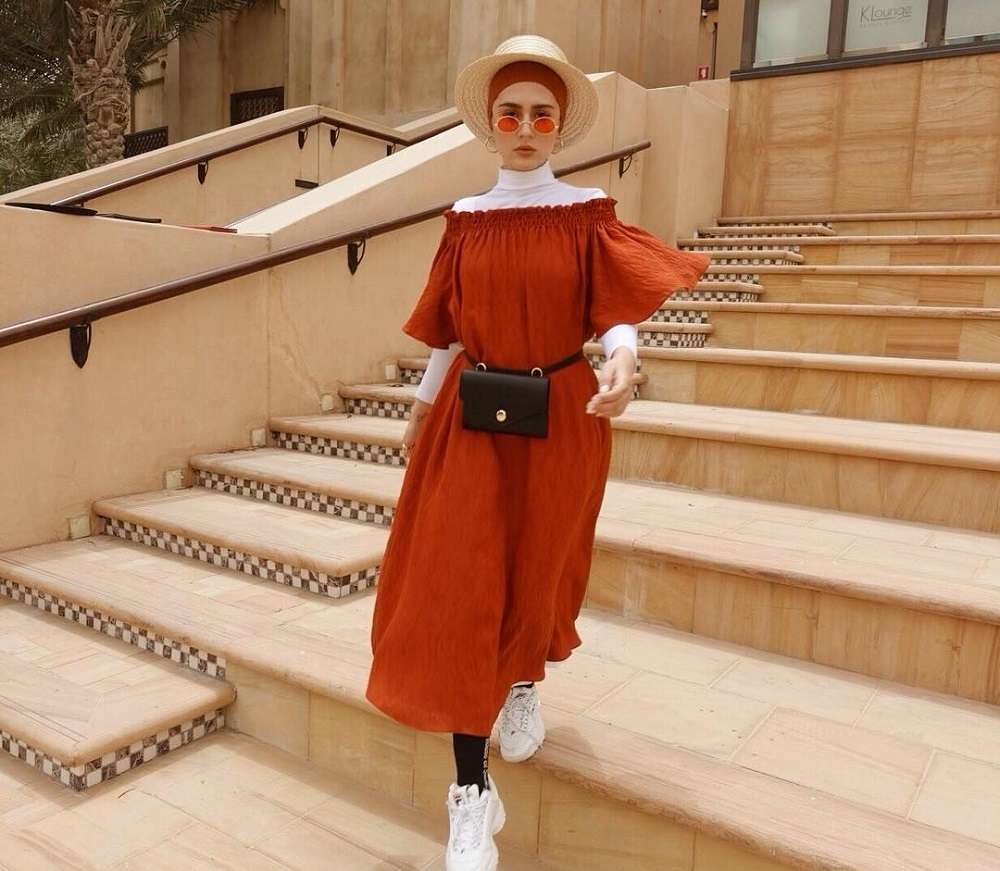 biar makin keren ini cara mix match hijab dari yasmeena