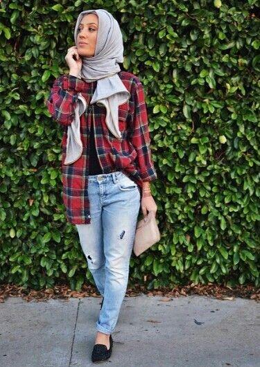 boyfriend jeans checkered shirts boyfriend shirt