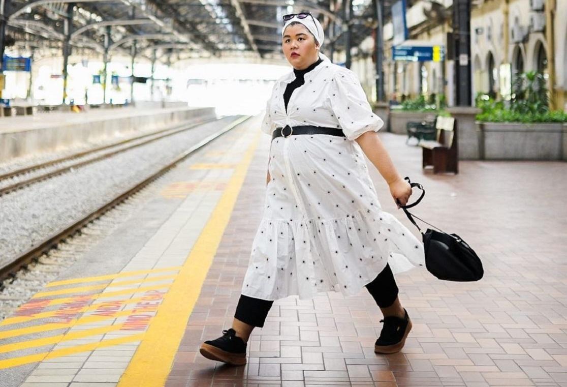 cek 7 aturan fashion hijab untuk wanita gemuk dan pendek