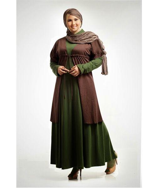 contoh gambar model baju muslim paling cocok untuk wanita