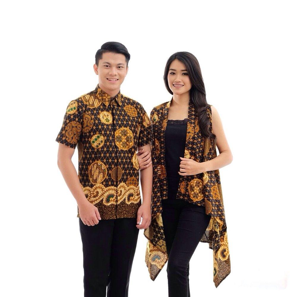 foto desain baju batik rompi kerabatdesain