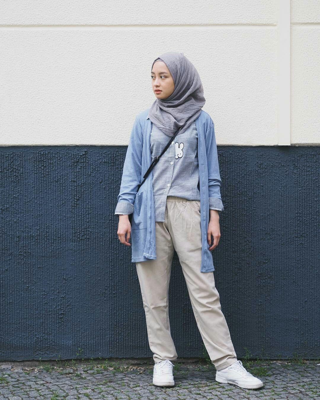 foto style baju hijab simple foto candid kekinian