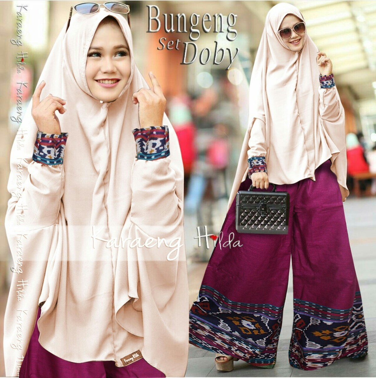 gambar style hijab kulot simple terbaru styleala