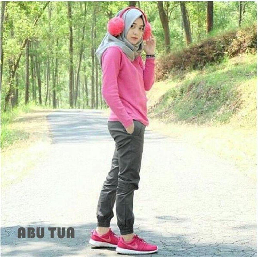 hijab jogging gambar islami