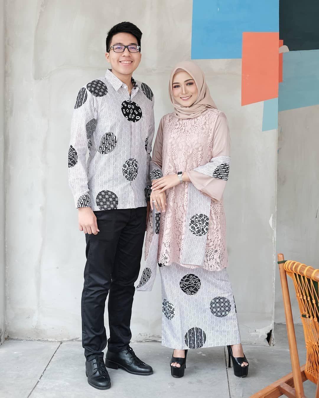 model baju brokat tunik rok batik ananta batik