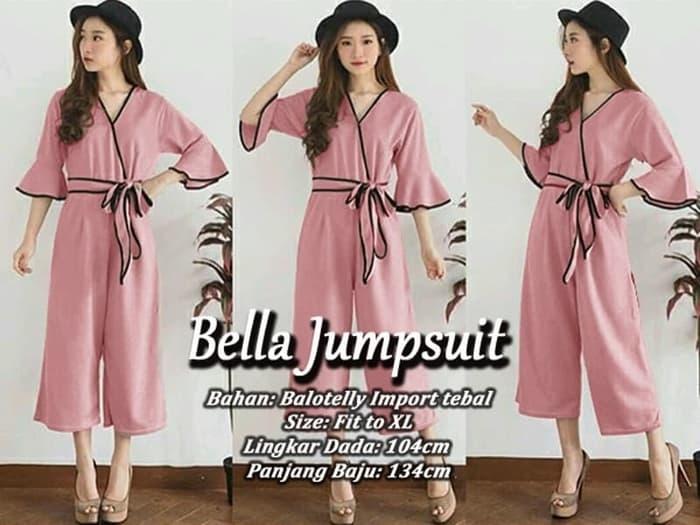 model baju jumpsuit kimono pendek wanita terbaru ryn fashion