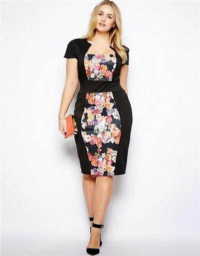 model dress terbaru untuk wanita gemuk