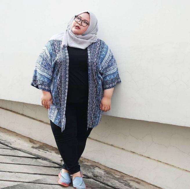 ootd hijab untuk wanita gemuk jilbab gucci